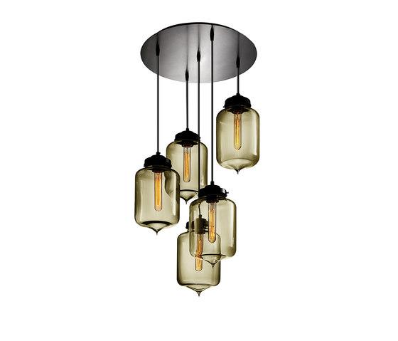 Circular - 5 Modern Chandelier by Niche | General lighting
