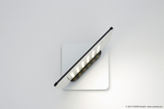 oneLED wall luminaire rotatable de oneLED | Iluminación general