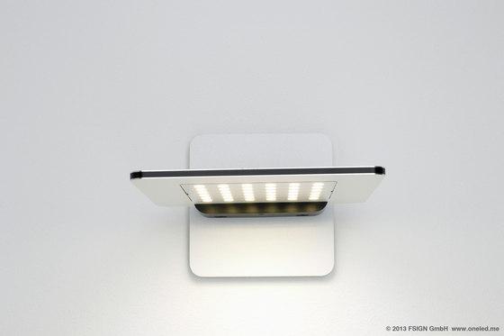 oneLED Wandleuchte drehbar von oneLED | Allgemeinbeleuchtung