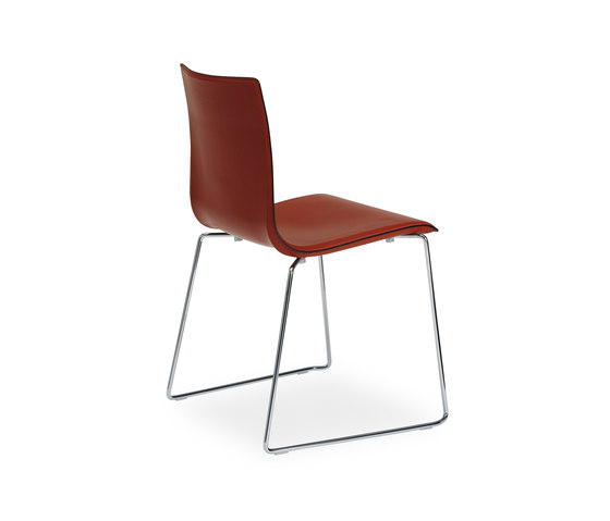 Wok sledge chair by Desalto | Visitors chairs / Side chairs