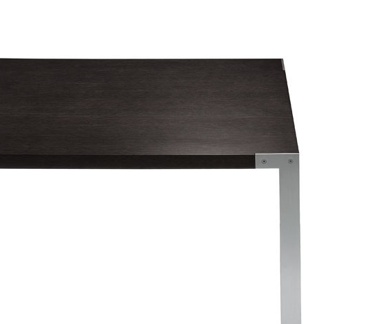 Liko rectangular table by Desalto | Meeting room tables