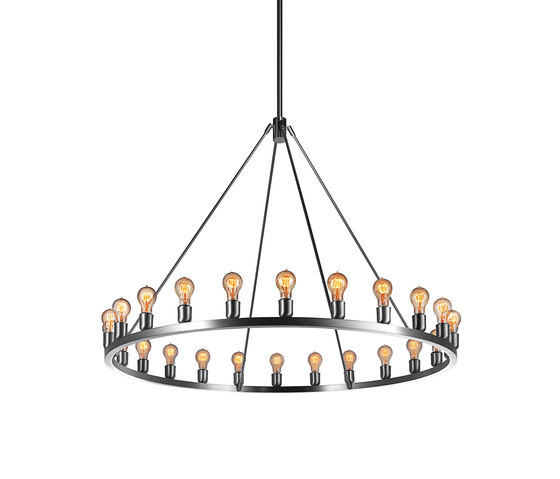 Spark 48 Modern Chandelier by Niche | Ceiling suspended chandeliers
