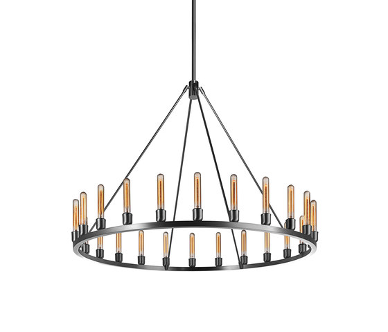 Spark 48 Modern Chandelier by Niche | Ceiling suspended chandeliers