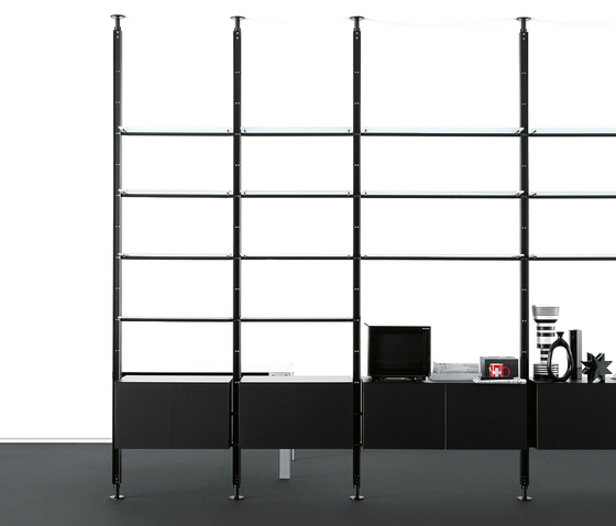 Armida bookcase by Desalto | Shelving