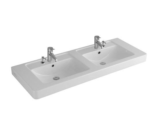 Subway Vanity double washbasin by Villeroy & Boch | Wash basins