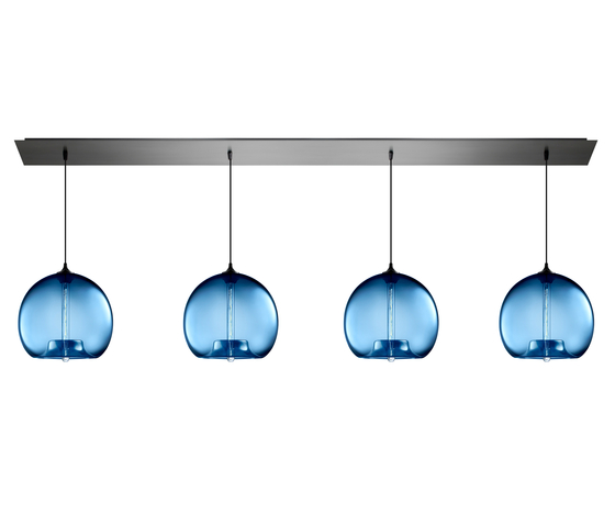 Linear - 4 Modern Chandelier by Niche | General lighting