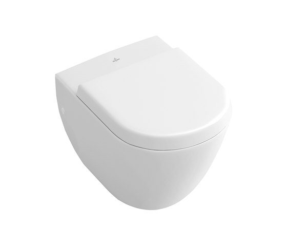 Subway WC a cacciata compact by Villeroy & Boch | Toilets