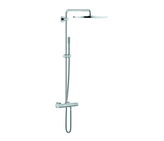 Rainshower® System 400 Shower system with thermostat by GROHE | Shower taps / mixers