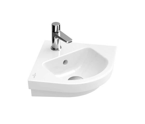 Subway 2.0 Corner handwashbasin by Villeroy & Boch   Wash basins