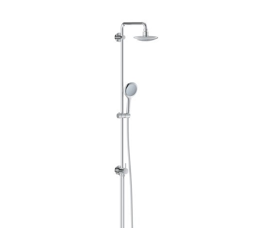 GROHE Shower Systems | Rainshower® Solo Shower system with diverter for wall mounting by GROHE | Shower taps / mixers