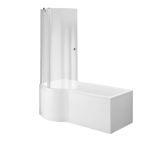 Subway Baths by Villeroy & Boch | Bath-Shower combinations