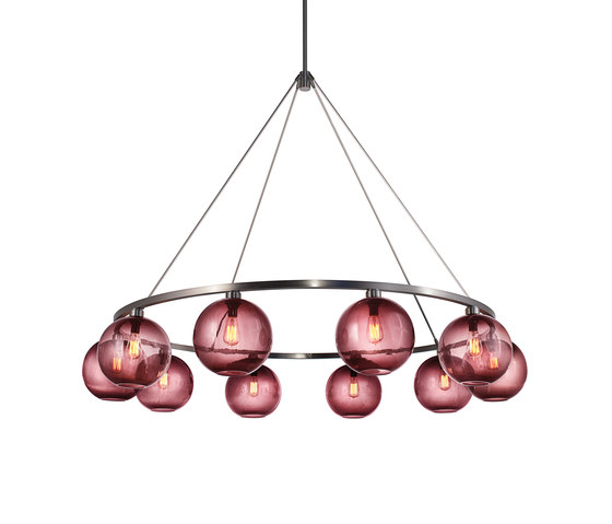 Sola 60 Modern Chandelier by Niche | Ceiling suspended chandeliers