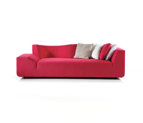 ladybug Sofa left di Brühl | Divani