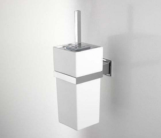 Time Toilet brush holder by Devon&Devon | Toilet brush holders