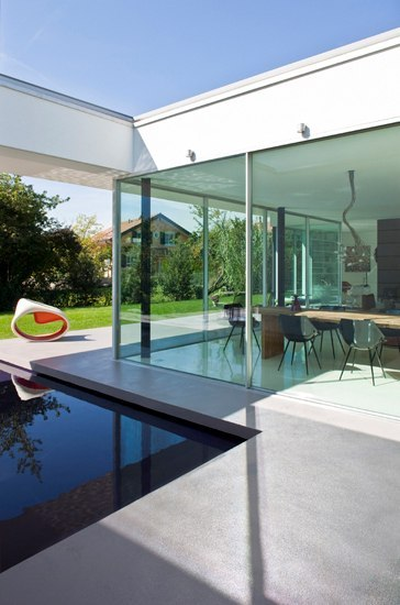 Villa E by Panoramah | French doors