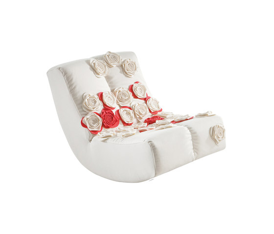 lucky RockingChair with stool fée de Brühl | Sillones