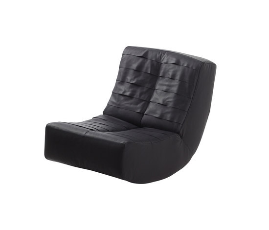 lucky RockingChair leather di Brühl | Poltrone
