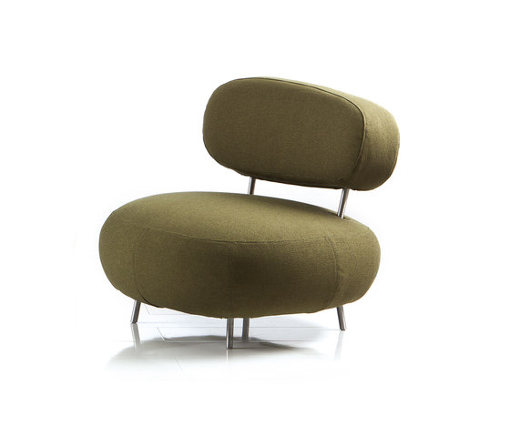 mosspink Armchair by Brühl | Lounge chairs
