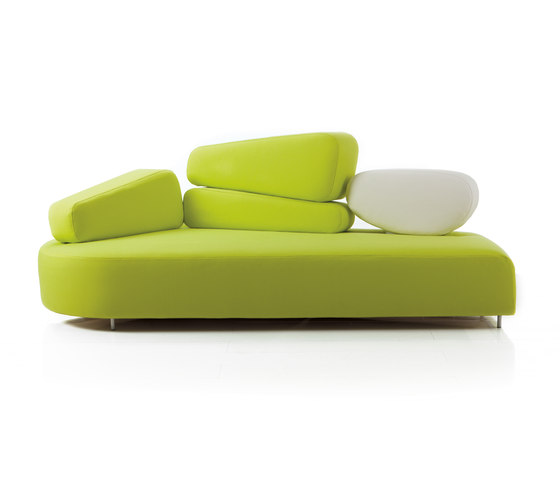 mosspink Sofa left by Brühl | Lounge sofas