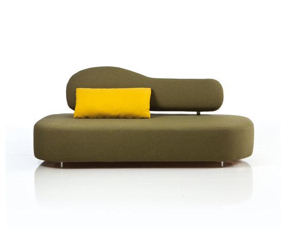 mosspink Sofa flow di Brühl | Divani