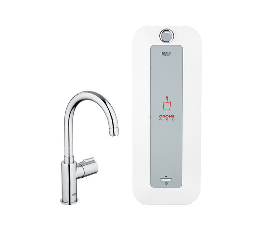 GROHE Red Mono faucet & combi boiler by GROHE | Kitchen taps