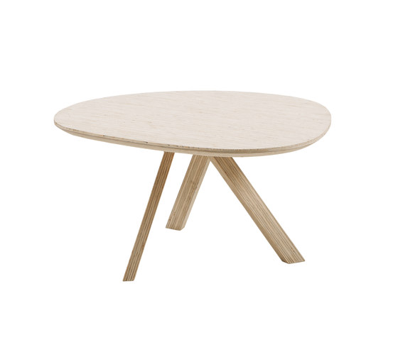 mosspink medium table di Brühl | Tavolini bassi
