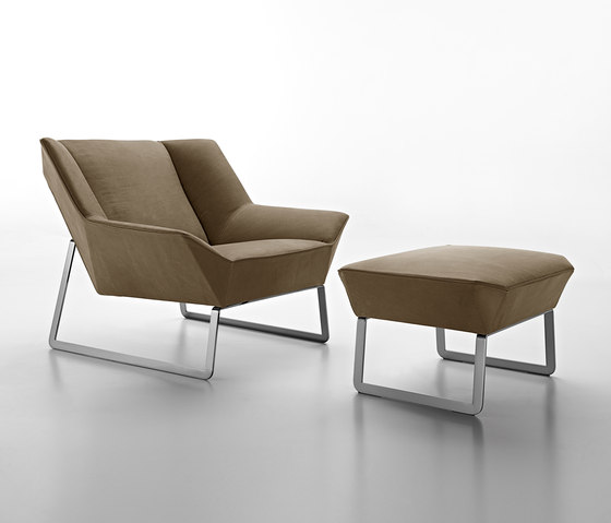 Tight von Molteni & C | Loungesessel