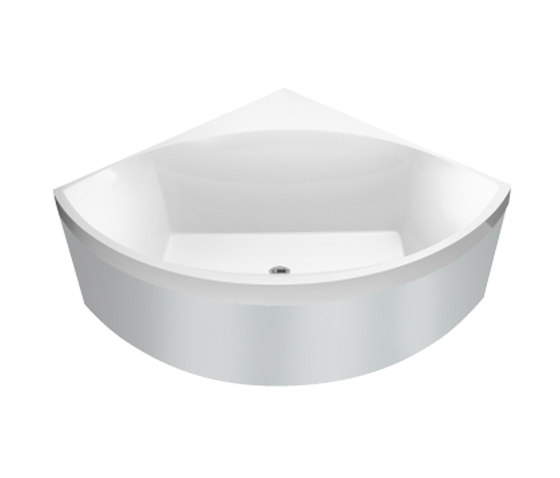 Squaro vasca da bagno vasche ad incasso villeroy boch - Vasche da bagno ad incasso ...