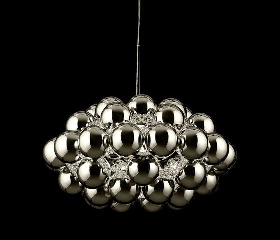 Beads Octo Chrome Pendant by Innermost | Suspended lights