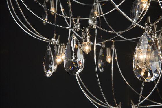 Crystal Galaxy Suspended Lamp by Quasar | General lighting