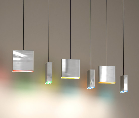 Match 6 suspended lamp by Quasar | General lighting
