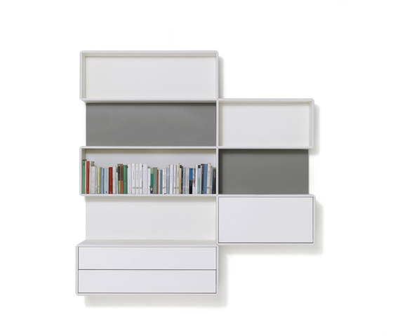 Alternata by De Padova | Office shelving systems