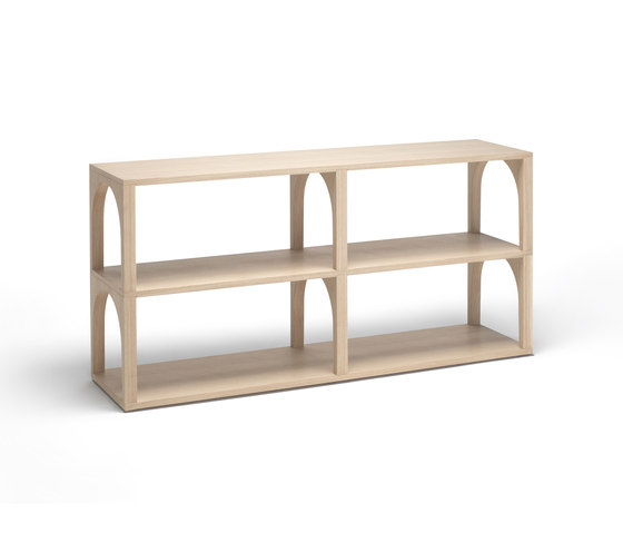 Portico bookshelf by Living Divani | Shelving