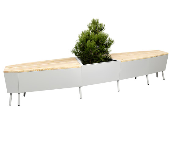 Elevation Bench de FLORA | Bancs de jardin