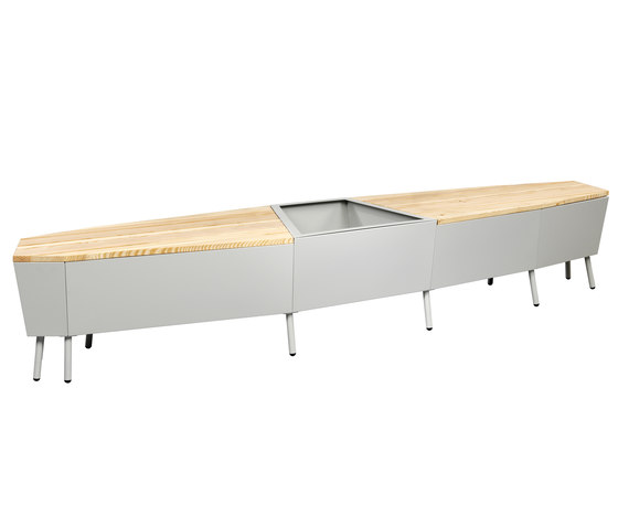 Elevation Bench by FLORA | Garden benches