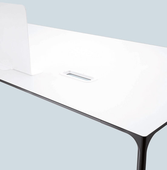 Nuur | Office by Arper | Individual desks