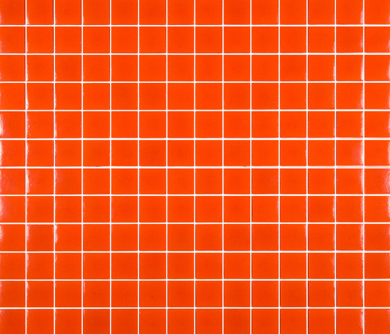 Chroma - Naranja de Hisbalit | Mosaïques en verre
