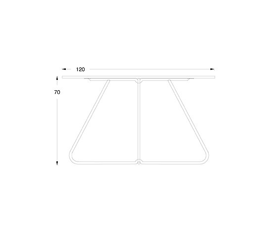 R120D de Peter Boy Design | Mesas comedor