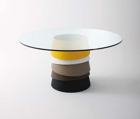 Layer by Gallotti&Radice | Meeting room tables