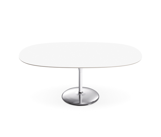 Duna | D081/D082 by Arper | Restaurant tables