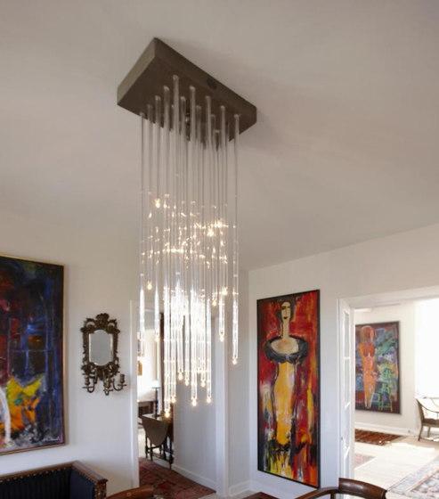 BENTE MERRILD chandelier by Okholm Lighting | Ceiling suspended chandeliers