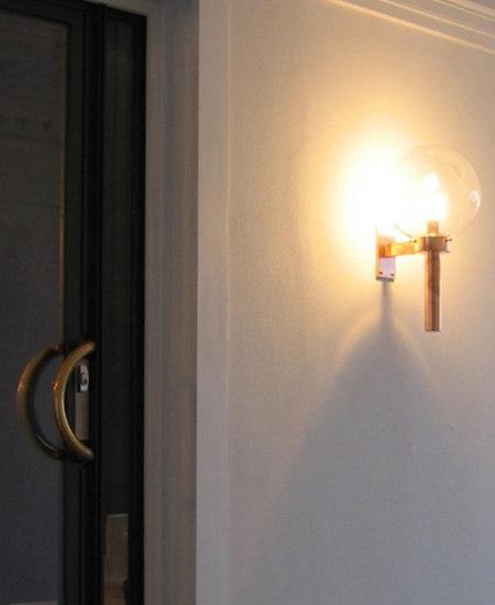 FAKKEL wall W250/W300 di Okholm Lighting | Lampade outdoor parete