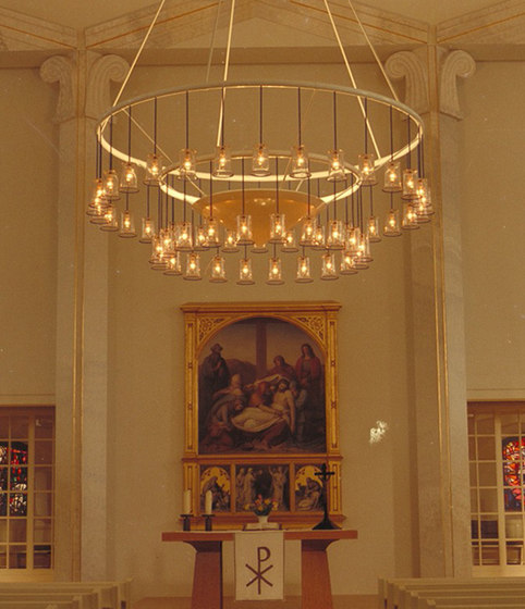 LOUISEN CHURCH chandelier de Okholm Lighting | Lustres / Chandeliers