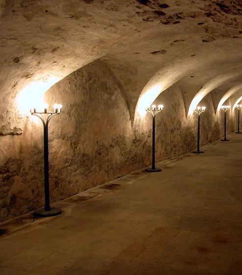 KRONBORG CASTLE candelabra di Okholm Lighting | Lampade da terra