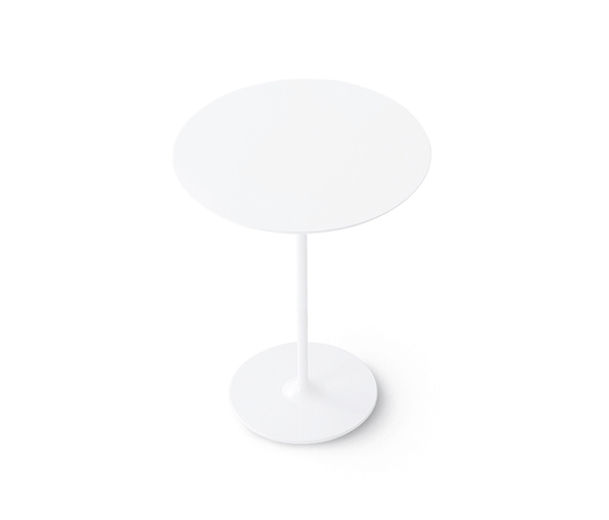 Dizzie | H 105 - Round base by Arper | Standing tables