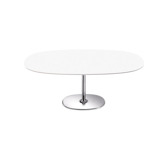 Dizzie | H 35 by Arper | Lounge tables