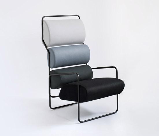 Sancarlo armchair de Tacchini Italia | Fauteuils d'attente