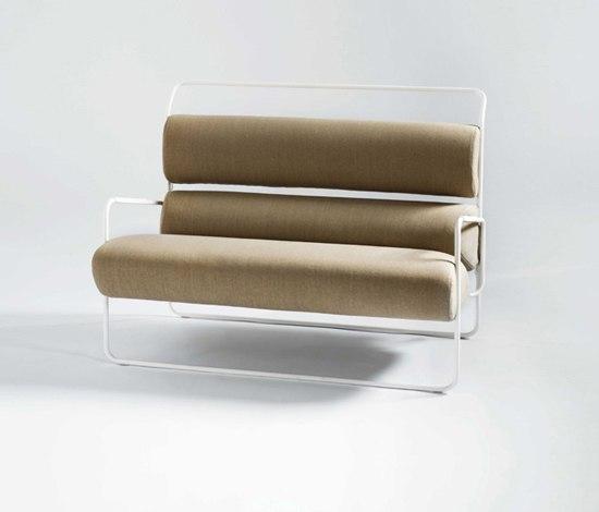 Sancarlo sofa de Tacchini Italia | Canapés d'attente