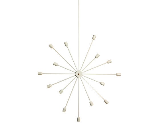 Astoria 15 arms wall lamp by RUBEN LIGHTING | General lighting