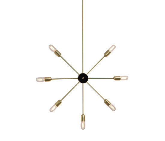 Astoria 7 arms wall lamp by RUBEN LIGHTING | General lighting
